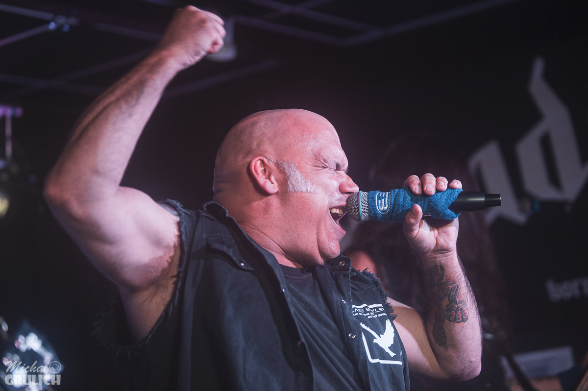 Blaze Bayley, Vice in Bridgwater music venue  The Cobblestones