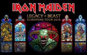 Iron Maiden Tour 2018